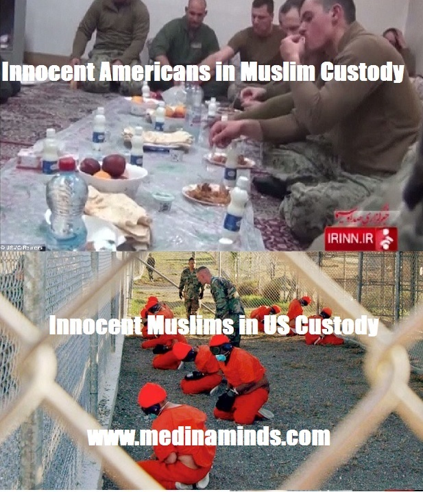 american in custody muslim in custody