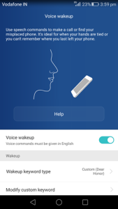 Honor 7 Tip  : Voice wakeup to find your phone.