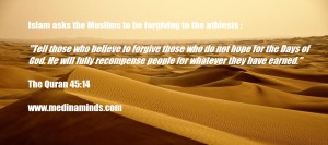 islam forgive the athiests