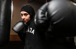 muslim women boxer