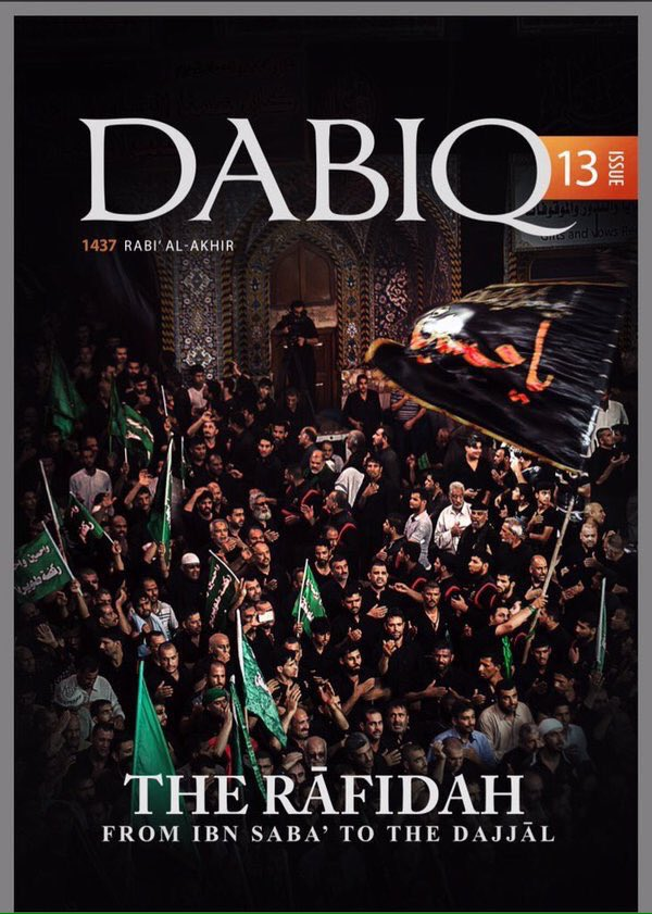 ISIS Magazine Dabiq shares same views as DOAM
