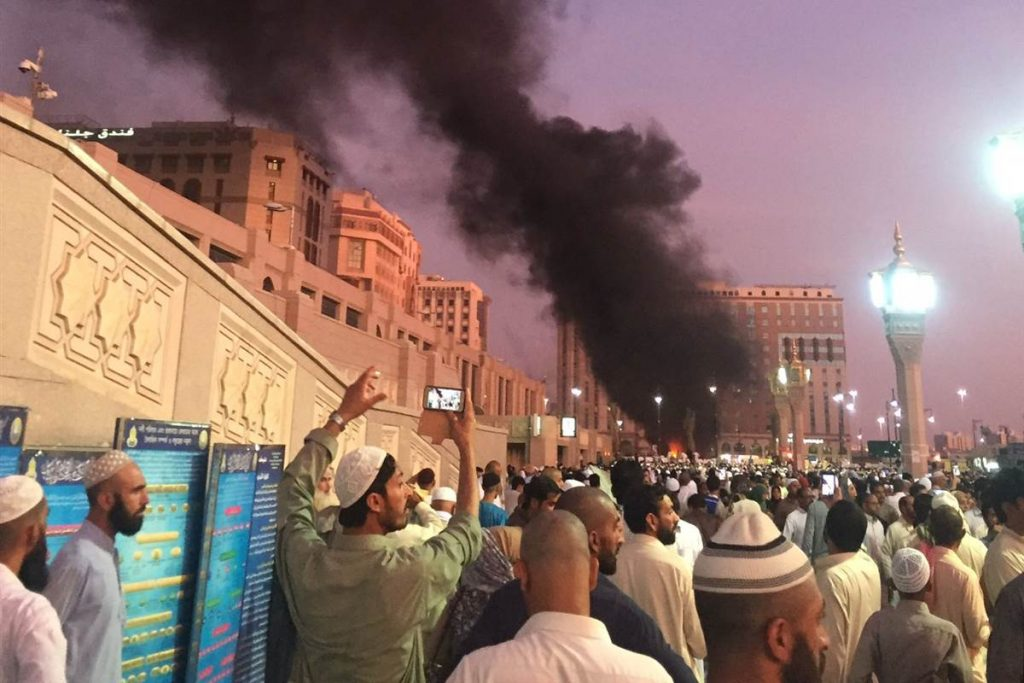 medina suicide bomb